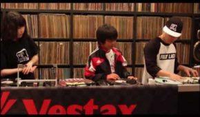 DJ QBert with Sara & Ryusei