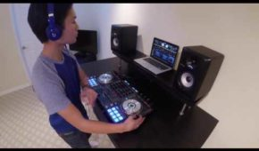 DJ Migz  (Pioneer DDJ SX) - EDM Mix 2016 / 14 yrs Old