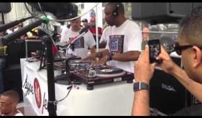 DJ Scratch at the Tedsmooth Old School Jam, Harlem 6/23/13