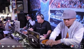 Dj Q Bert, Dj Shorkut & D-Styles at NAMM 2015